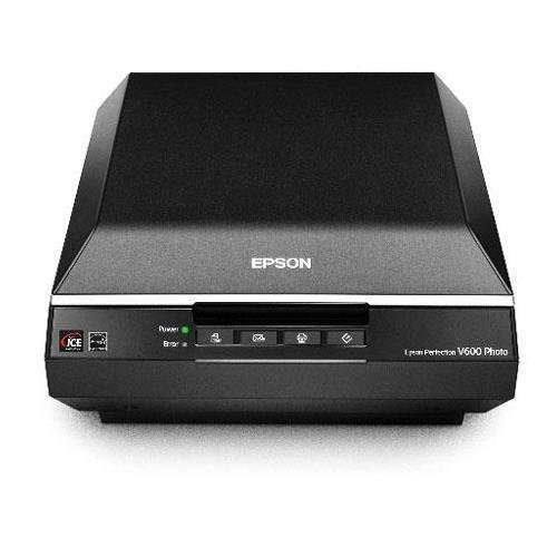 Epson Perfection V600 Flatbed 8.5x11.7in Photo Scanner (Renewed) by Epson