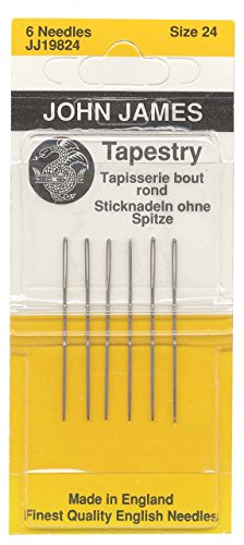 Colonial Needle Tapestry Hand Needles-Size 24 6/Pkg