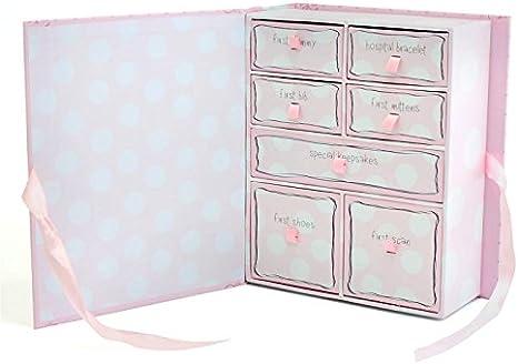 Bebé niña compartimento caja de recuerdos para regalo – Precious Little niña regalo: Amazon.es: Bebé