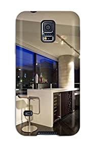 Cute Tpu ZippyDoritEduard Wine Bar With Barstool Seating And Contemporary Track Lighting Case Cover For Galaxy S5
