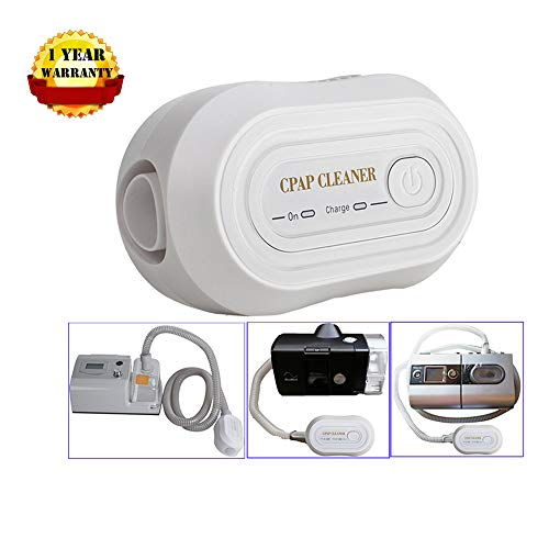 Denshine Mini CPAP Cleaner, Portable CPAP Cleaner Disinfector, for CPAP Air Tubes Machine Respirator Cleaning Sanitizer Disinfection