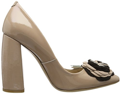 FersengoldMünchen - Zapatos de Tacón Mujer Schwarz (Schwarz)