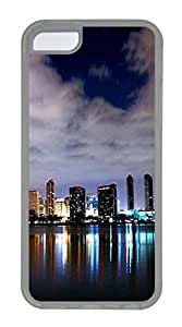 iPhone 4/4s Case San Diego Skyline 3 TPU Custom iPhone 4/4s Case Cover Transparent