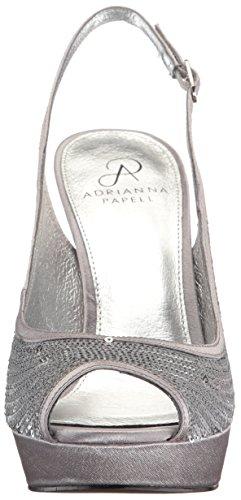 Mini Adrianna Papell Rio Sequins Women Silver Platform qHqCSPxXvw