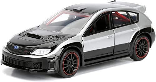 Jada 98507 Toys Ff Subaru WRX STI Diecast Vehicle, Silver, 1: 32 Scale, Silver/Black
