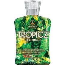 Supre Hempz Tropicz BB Bronzer Tanning Lotion 13.5 oz by Hempz