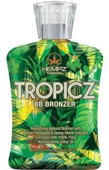 Supre Hempz Tropicz BB Bronzer Tanning Lotion 13.5 oz