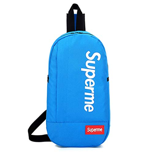 (Fanny Pack Shoulder Bag Waist Pack for Men Women Casual Style Leisure (Blue))