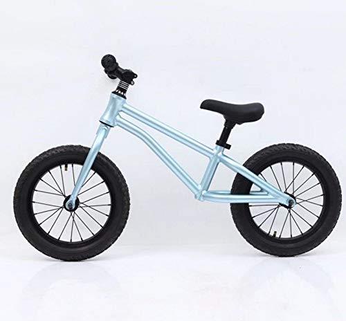 子供用バランスカー1-2-3-6スライドカー14インチペダルレス二輪車 ( Color : B07QK7QZWX : ブルー ( ) B07QK7QZWX, 彩美:b2c1e8d4 --- mail1.ferraridentalclinic.com.lb
