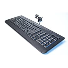 Dell H9Y23 Alienware Wired USB Computer Keyboard SK-8165, Plug-N-Play NO SOFTWARE REQUIRED, Multimedia Hot Buttons Including Audio Control