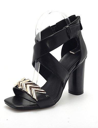 268b39844e lfnlyx de zapatos de mujer Chunky talón tacón Peep Toe Gladiator Open Toe