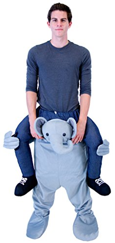 Costume Agent Men's Piggyback Elephant Ride-On Costume, Adult (Elephant Costume For Adults)