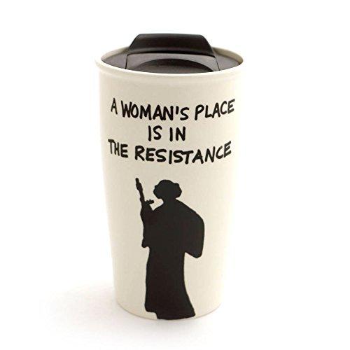 Resistance Princess Leia Eco Travel Mug]()