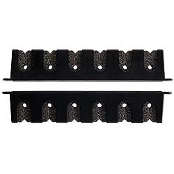 Berkley Fishing Rod Racks, Horizontal or Vertical (Horizontal 6 Rod Rack, 4 Pack)