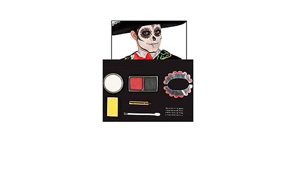 Kit de Maquillaje Día De Los Muertos: Amazon.es: Ropa y accesorios