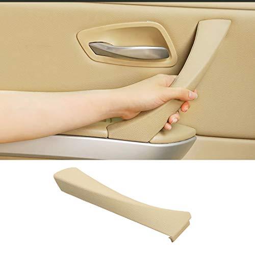 Left Side Door Handle Outer Covers For BMW 3 Series E90/E91,Jaronx Left Rear Door Handle Clasp Interior Door Trim Covers (Fits:BMW 323 325 328 330 335)(Beige)