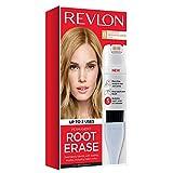 Revlon Root Erase Permanent Hair Color, Root Touchup Hair Dye, 100% Gray Coverage, 8 Medium Blonde, 3.2 oz