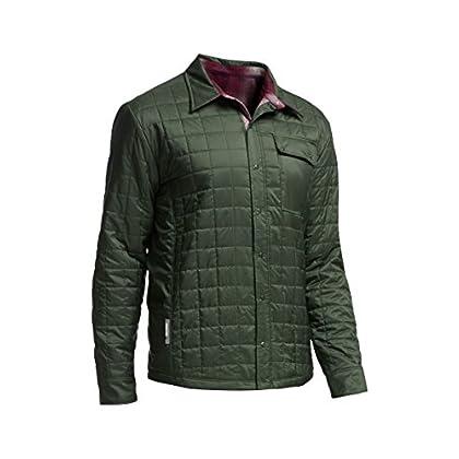 Image of Button-Down Shirts Icebreaker Merino Men's Long Helix Button Down Shirt Jacket, New Zealand Merino Wool