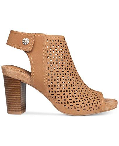 Giani Bernini Womens Joiseyy Open Toe Casual Slingback Sandals Caramel