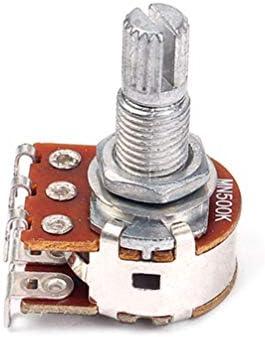 HEALLILY Potenciómetros de Guitarra Potenciómetro de Control de ...