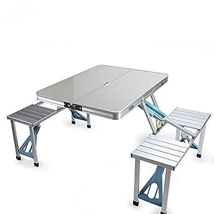 Folding table Tipo de Maleta para hogar al Aire Libre Mesas ...