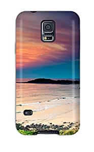 Anti-scratch Case Cover Protective Beach Case For Galaxy S5