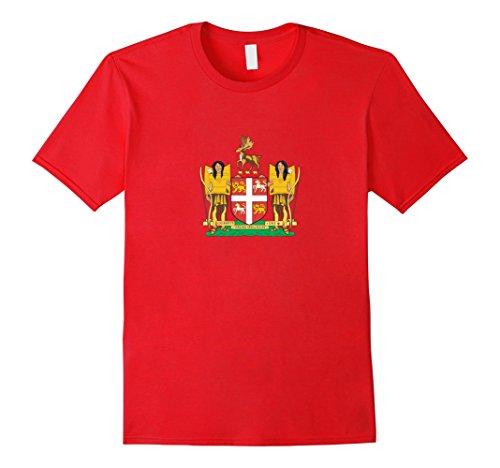 Men's Newfoundland & Labrador Provincial Coat Of Arms | CA T-shirt 3XL ()