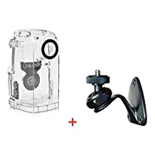 Brinno ATH120 Weather Resistant Housing + Brinno AWM100 Wall Mount for Brinno TLC200 PRO HDR Time Lapse Camera