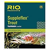 #5: Rio Fishing Products Suppleflex Trout Leaders, 3 Pack