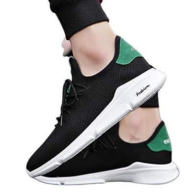BUCADIA Men' S Mesh Running Sports Walking Casual Sneakers Shoes