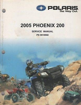 2005 POLARIS ATV PHOENIX 200 SERVICE MANUAL 9919968 (998)