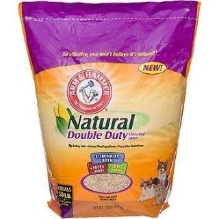 Arm & Hammer 718536 2/15 Natural Double Duty Clumping Litter (Arm And Hammer Litter Natural)