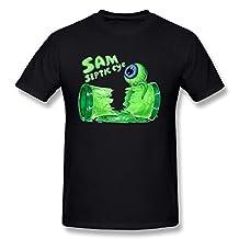 AnneLano Men's Septic Eye Sam T Shirt X-Large Black