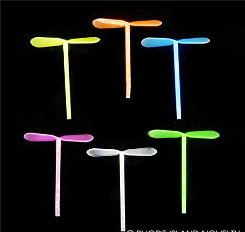 10pc MICRO GLOW IN DARK FINGER DRAGONFLY, Case of 288 by DollarItemDirect