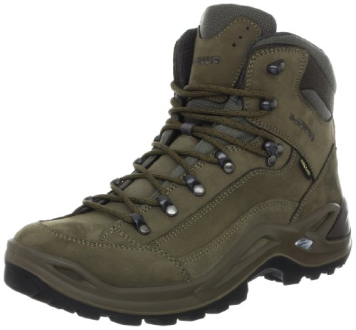 Authentic Lowa Mens Renegade Gtx Mid Hiking Boot Stone
