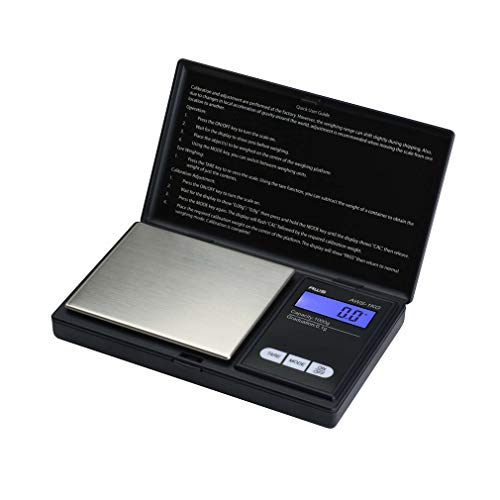 American Weigh Scale Signature Series Digital Precision Pocket Weight Scale, Black 1000G x 0.1G (AWS-1KG-BLK)