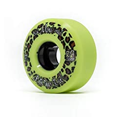 Moxi Trick 59mm Skate Wheels (4-Pack)              Whether you are a casual skater or a competitive trick skater, these skate wheels are a great fit for you. The Moxi Trick 59mm features a 97A hardness urethane formula created...