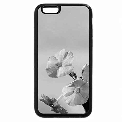 iPhone 6S Case, iPhone 6 Case (Black & White) - Delicate flowers for my kind friend Hazel