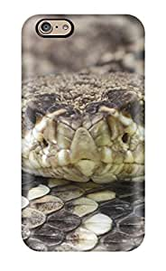 Durable Protector Case Cover With Eye-to-eye With Crotalus Adamanteus Hot Design For Iphone 6
