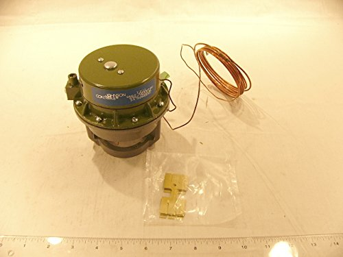 - Johnson Controls T-3111-6 Series T-3111 Integral Thermostat and Piston Top Valve Actuator, Direct Acting, Concealed Set Point, Averaging Element
