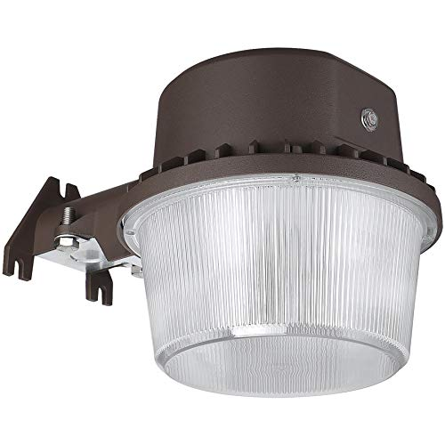 TORCHSTAR LED Barn Light, Dusk to Dawn Security Area Light with Photocell, ETL-Listed for Yard, Patio, Farm, 5000K Daylight