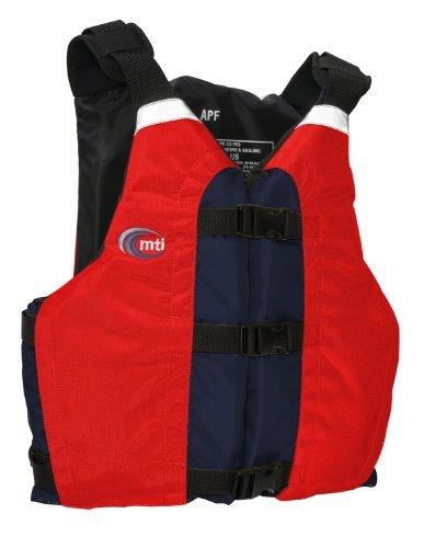 MTI Adventurewear APF All Person Fit PFD Life Jacket (Red/Navy Universal) [並行輸入品]   B077QRB9K8