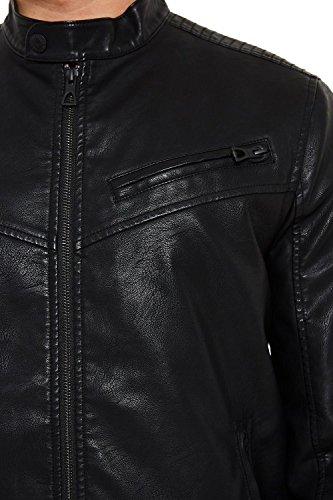 Threadbare Uomo Giacca Giacca Black Threadbare fxR4w6U