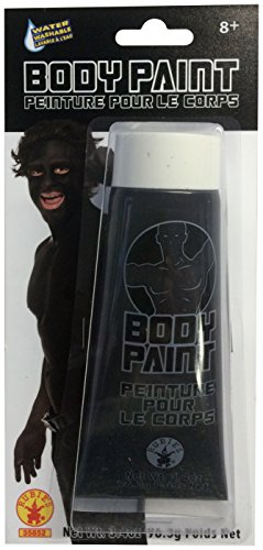 [Rubie's Costume Co Men's Body Paint, Black, One Size] (Body Paint Costumes For Halloween)