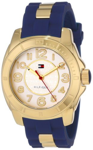 Tommy Hilfiger Women's 1781307 Casual Sport Gold-Plated Case - Tommy Hilfiger Watches Women