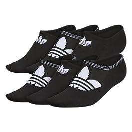 adidas Originals Womens Trefoil Superlite Super No Show Socks (6-pair)