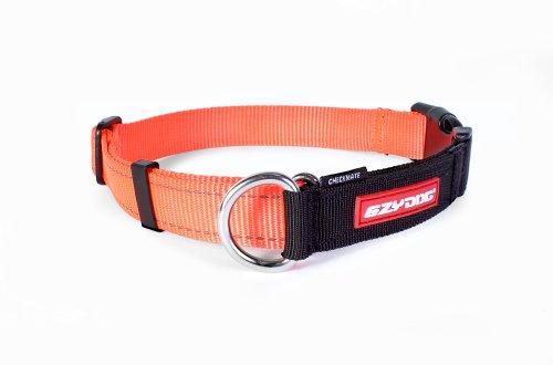 EzyDog Checkmate Collar, Extra Large, Blaze Orange