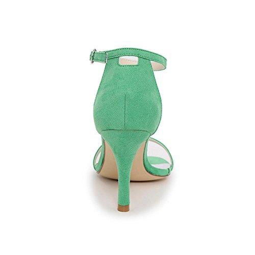 amp; Wedding Evening Green Party Sandals Glitter Women's Spring Sandals Summer Fall PSpFwq