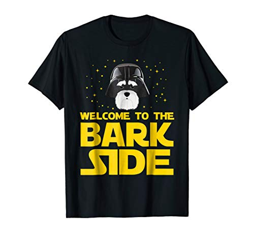 Giant Schnauzer Club - Welcome to the Bark Side of Miniature Schnauzer Funny shirt