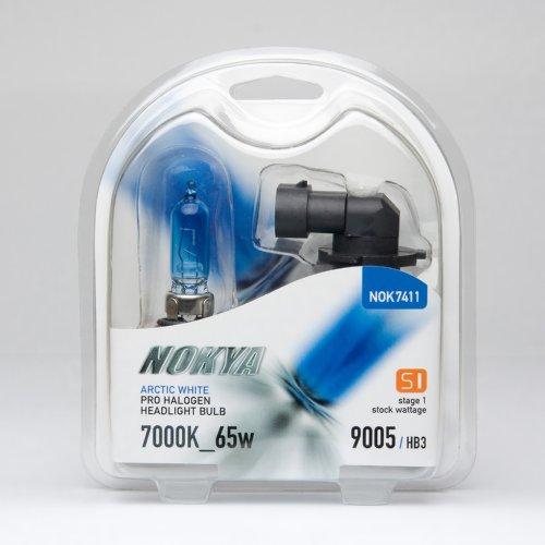 Nokya 9005/HB3 Headlight Bulbs - Arctic White 7000K 65W (Stage (Nokya Arctic White)